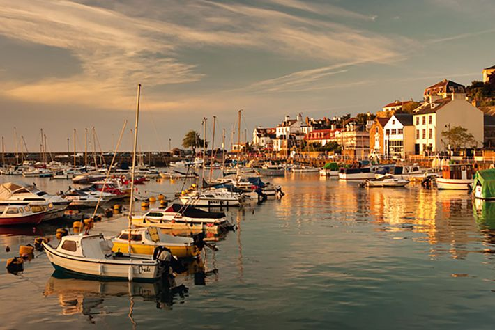 Harbourside, Channel Islands.