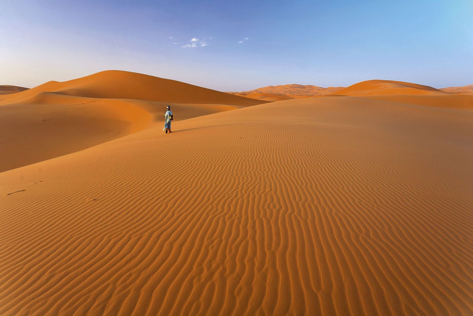 Erg Chebbi dunes, Morocco