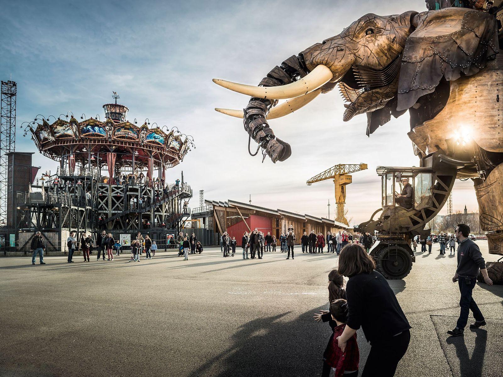 Nantes' cultural district