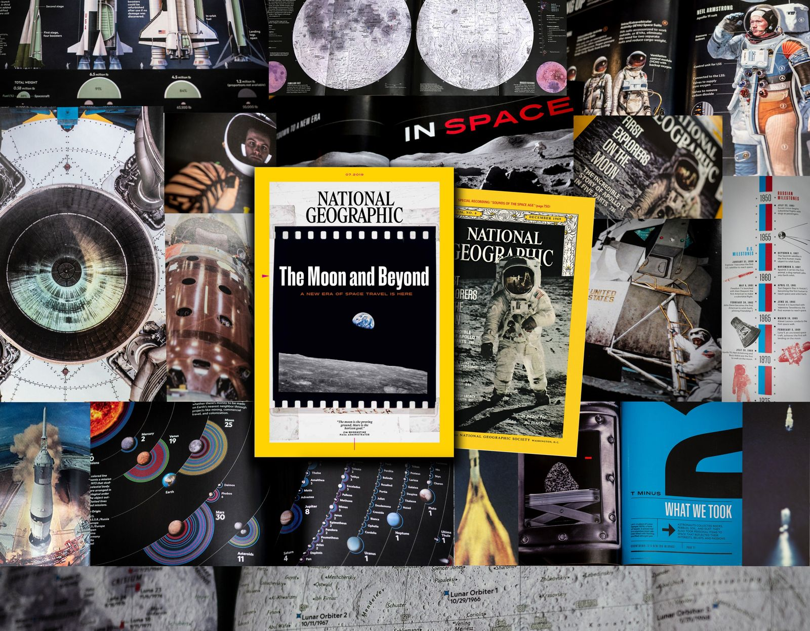 The Moon Landing at 50: A Special Edition of National Geographic