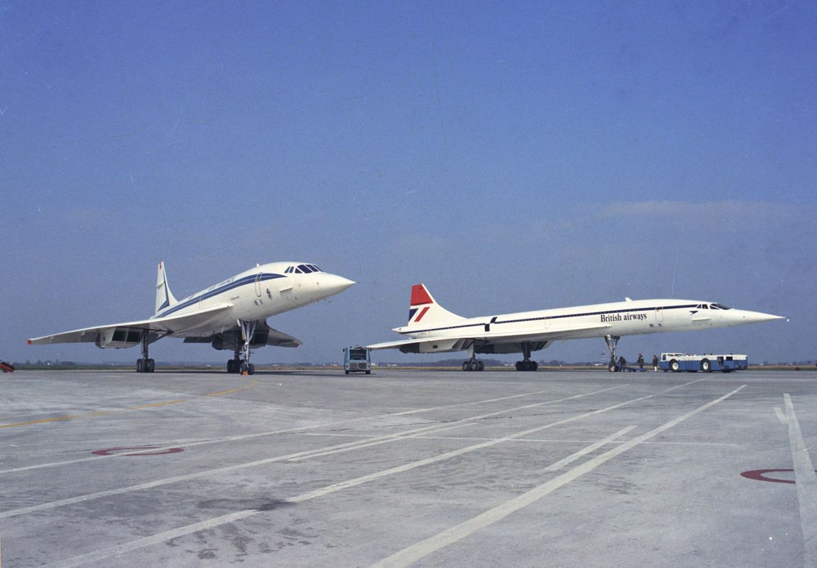 The joint development of the Concorde between France and Britain secured the airliner a place in ...