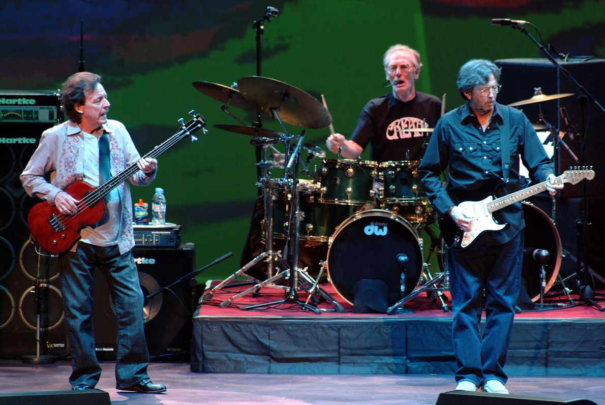 37 years later in May 2005 Cream reunited onstage again for one of the most acclaimed ...