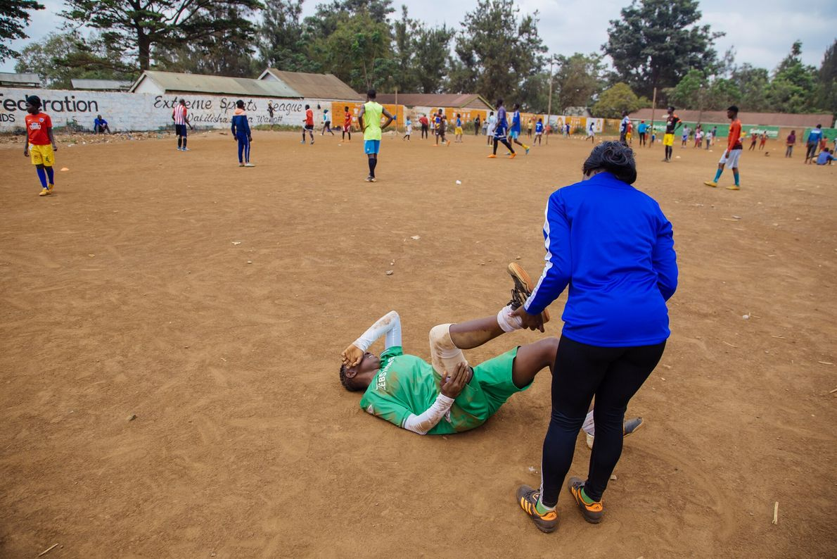 Ann Aluoch says the impact of COVID-19 has been significant on the lives of professional players, ...