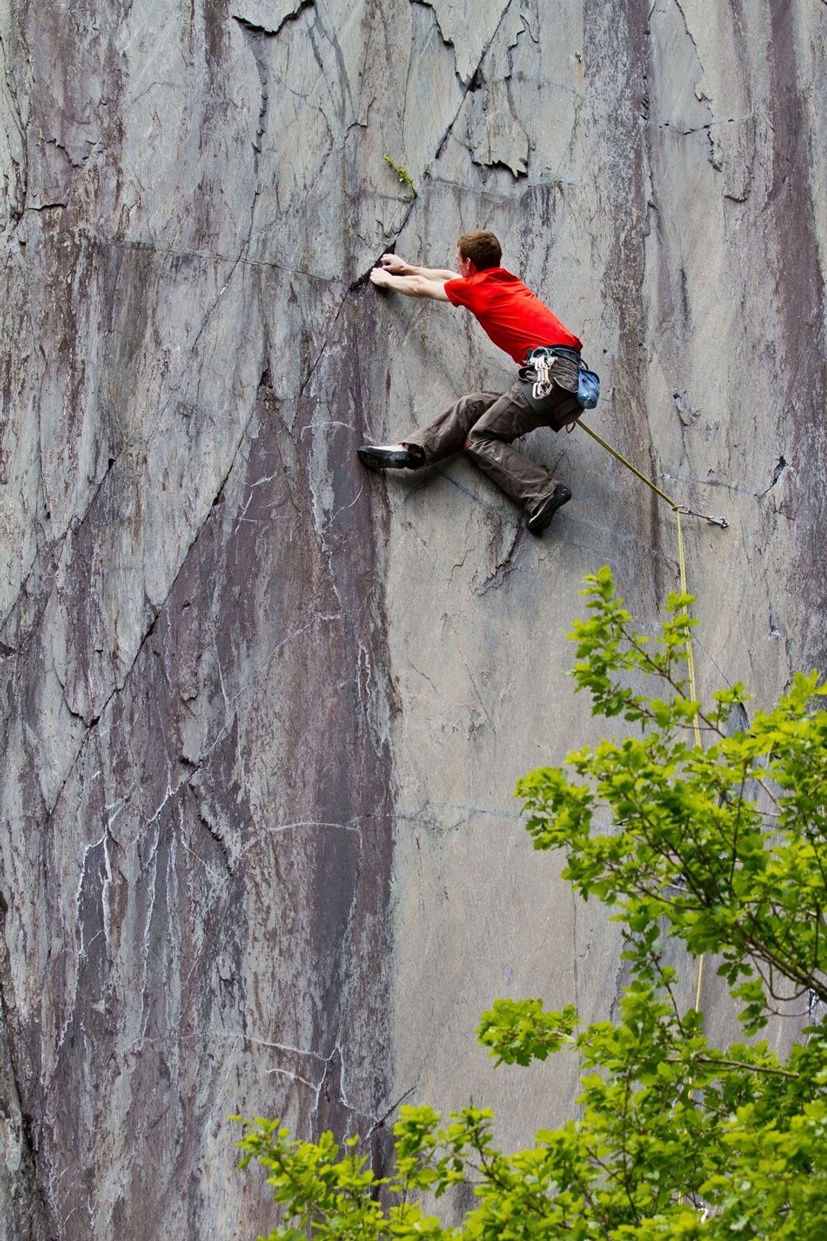 Slate in North Wales provided the training ground for some of the UK's most pioneering climbers, ...