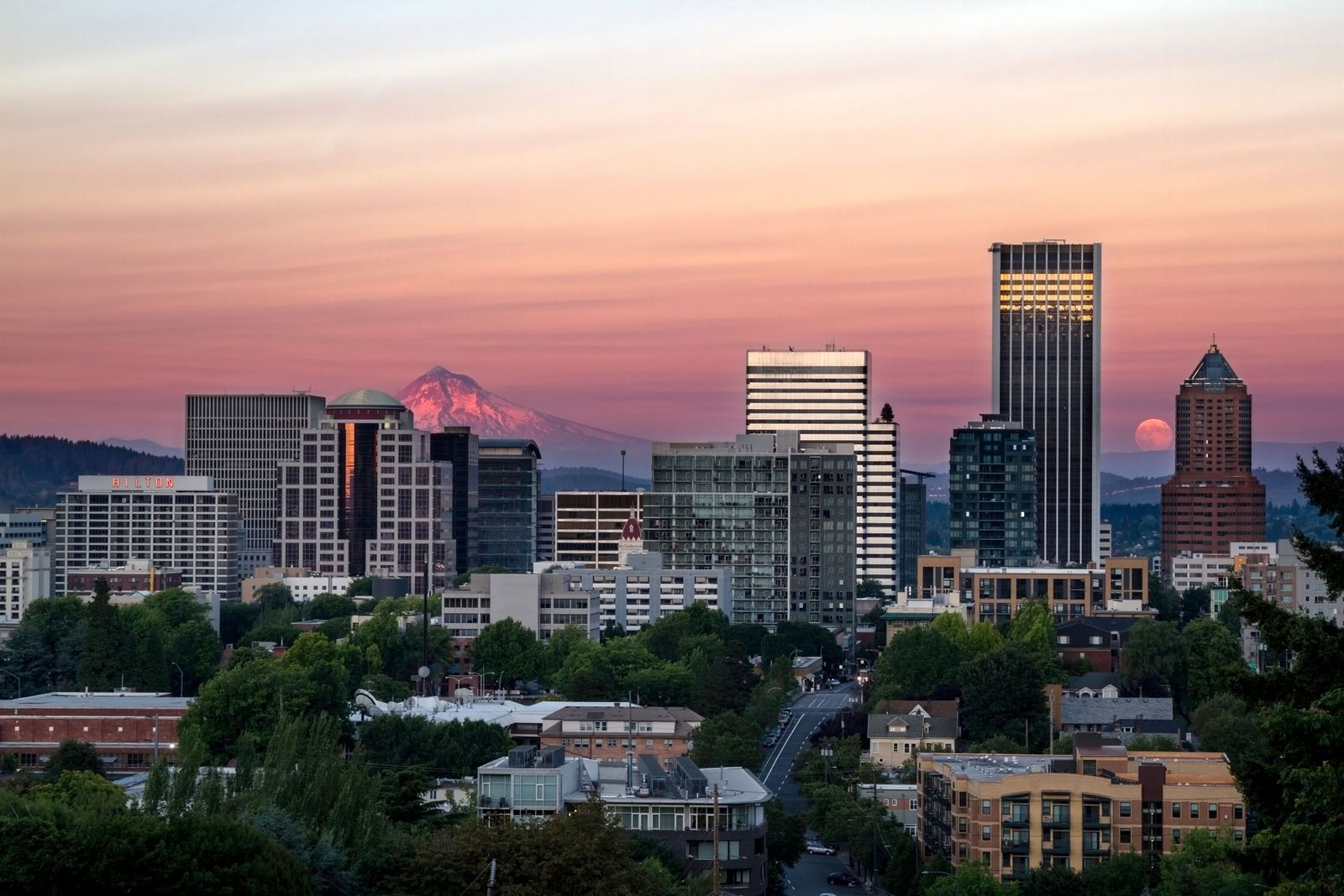 """Portland, Oregon: """"A very definite attempt to create a modern city that will use its resources ..."""