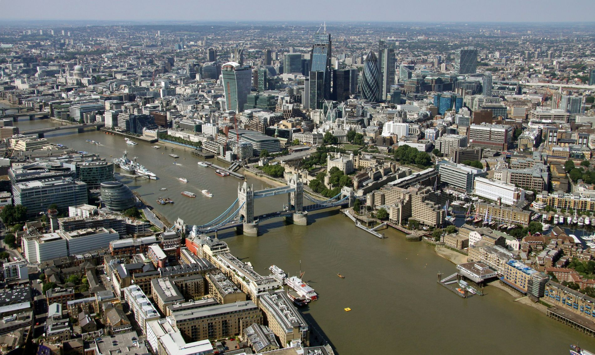 London's Thames was one of the rivers in the UK-commissioned study, which warns 'that by 2050, ...