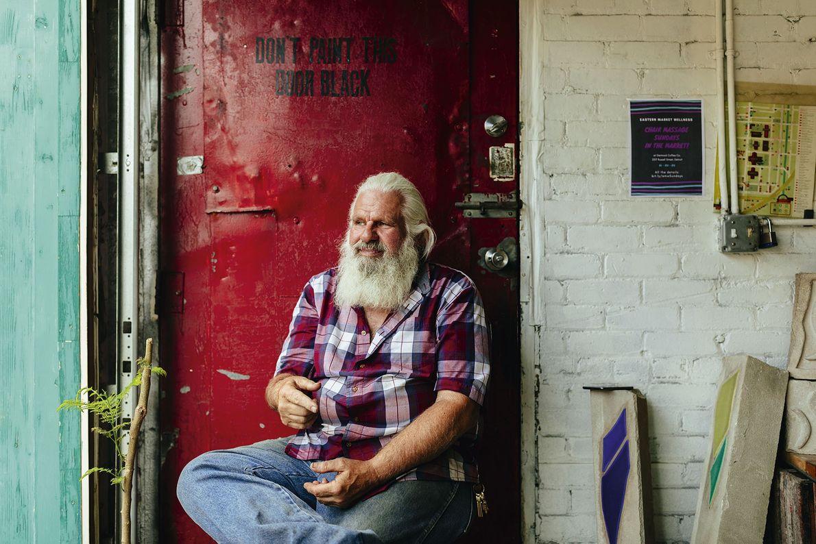 Arthur Rugenstein, owner of Detroit Design Reworked, Eastern Market