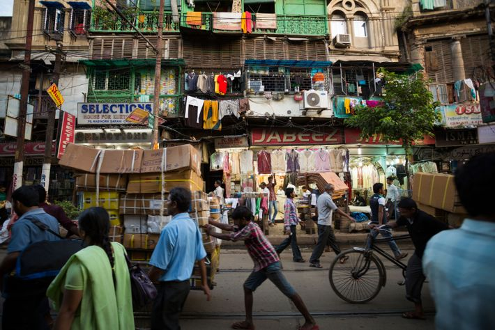 """Calcutta, India: """"I think a city is about its people – and the energy and the ..."""