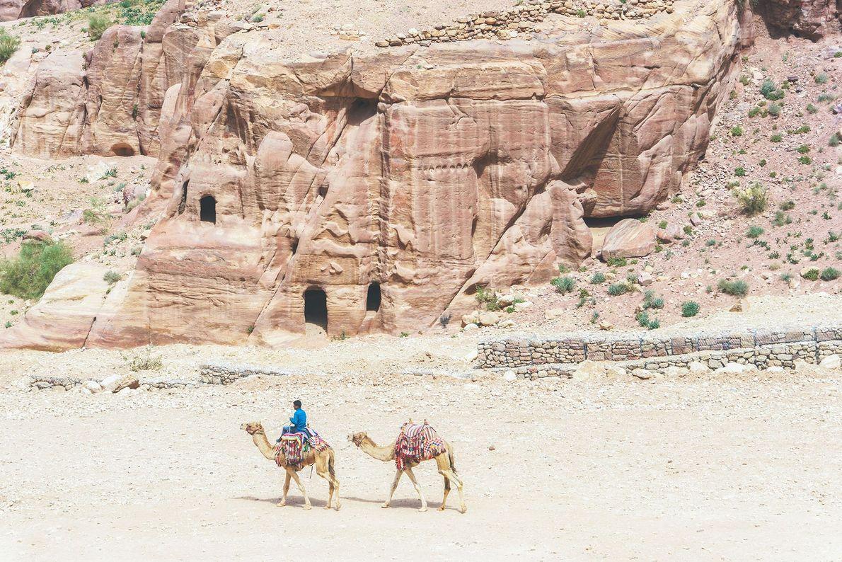 Crossing the desert.