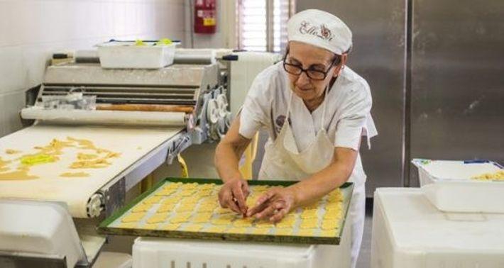 Making ciambelle biscuits at Fratelli Marteddu, San Vito. Image: Karolina Wiercigroch