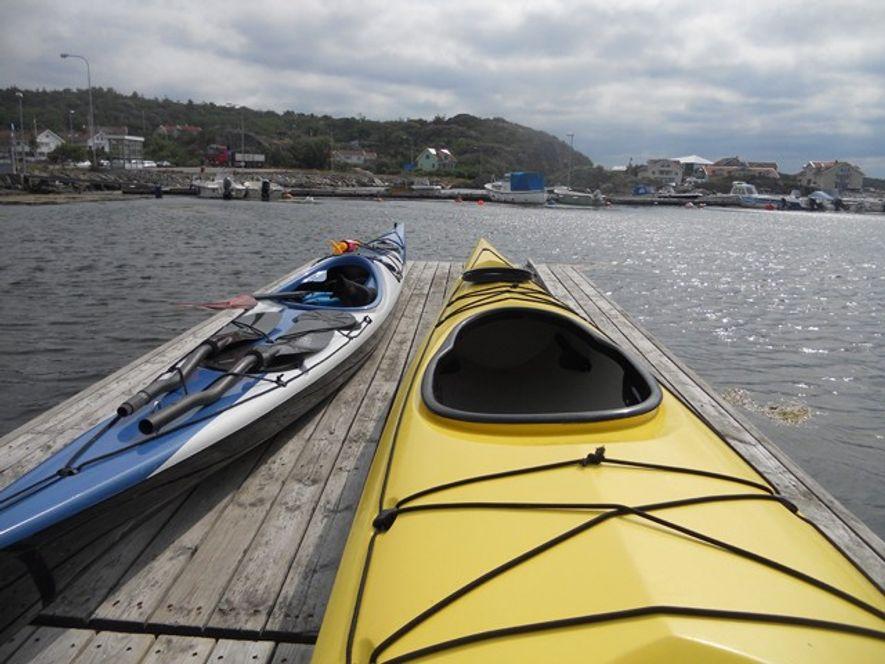 Sweden: Sea kayaking