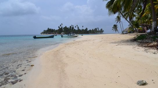 A beach in Panama