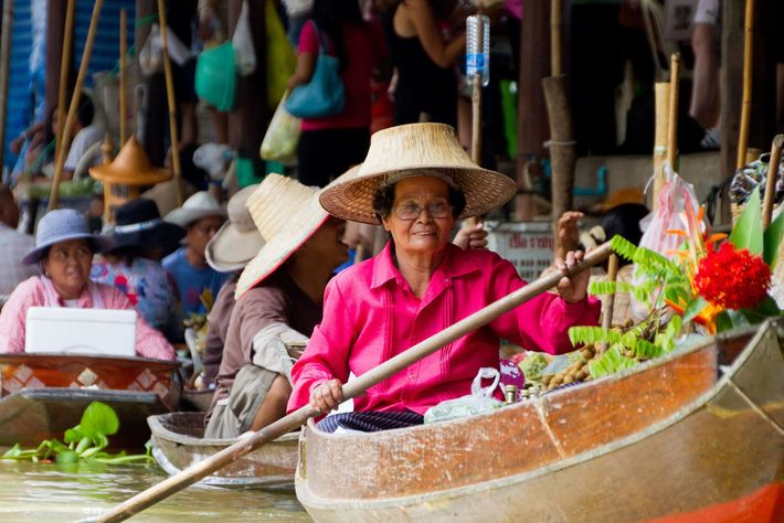 Damnoen Floating Market, Bangkok