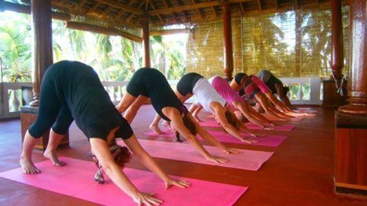 Palm Tree Hotel, Kerala: Free Spirit Yoga