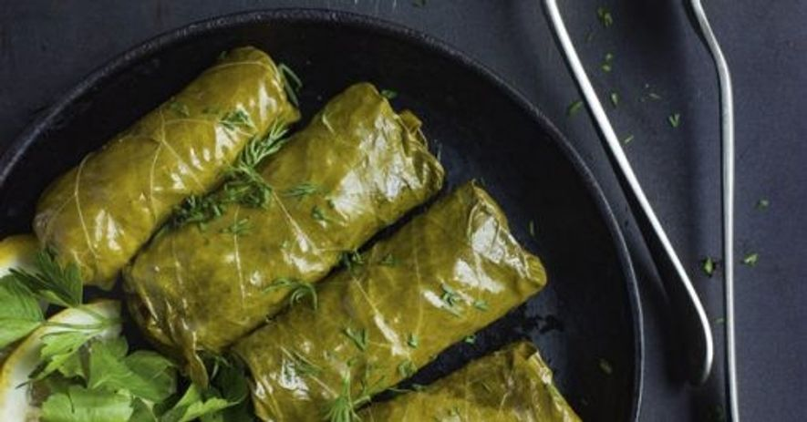 Dolma; stuffed vine leaves