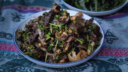 How to make it: Gaozuo Zhima's dried mushroom salad recipe
