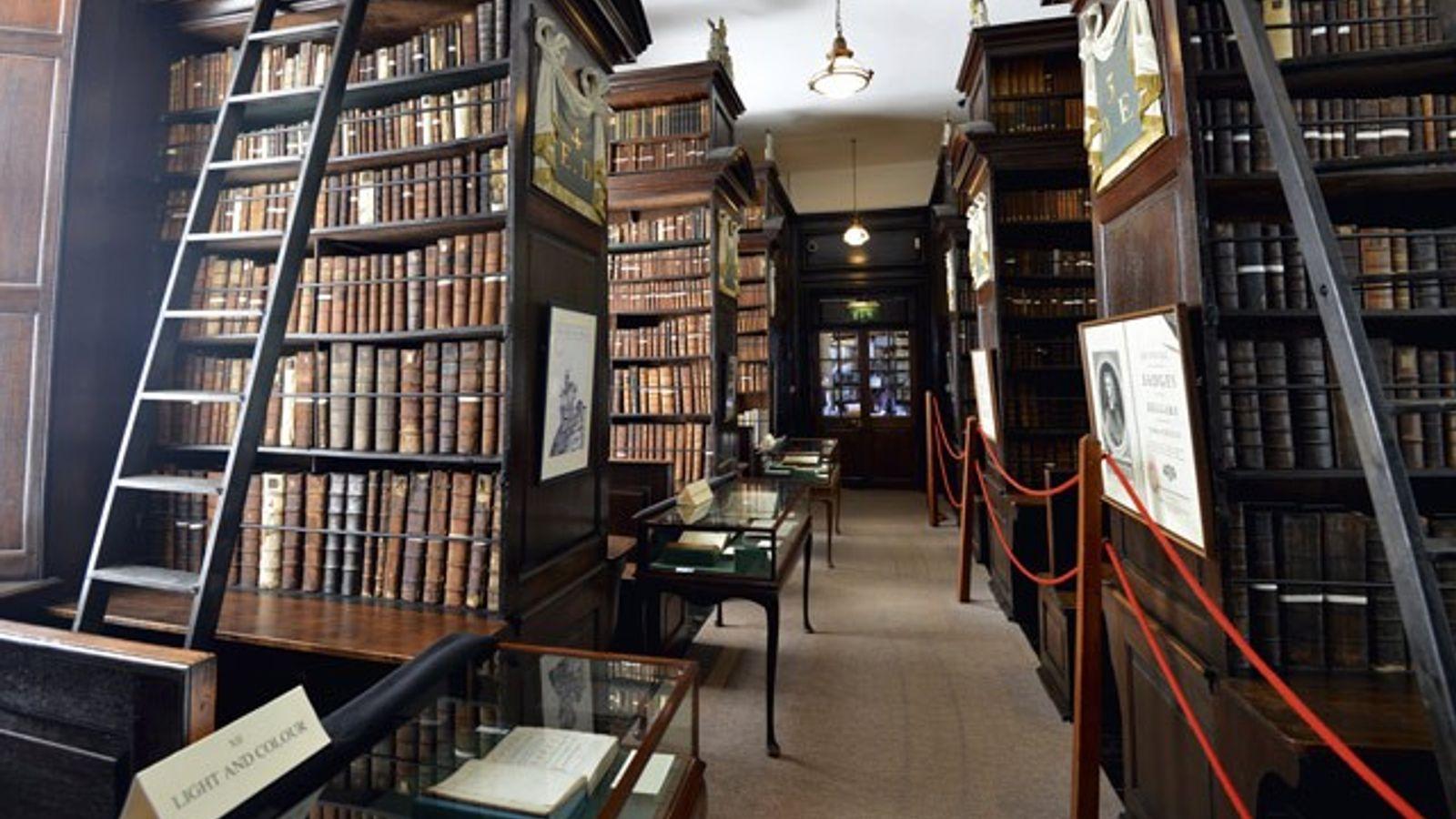 Marsh's Library, Dublin.