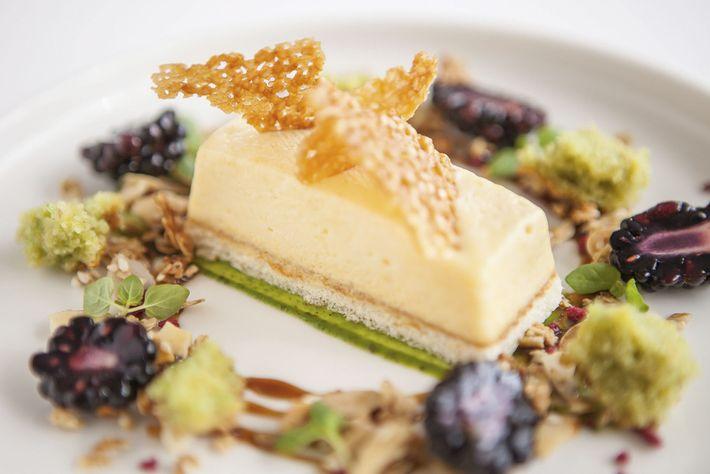 A dessert from Craig Millar @ 16 West End restaurant