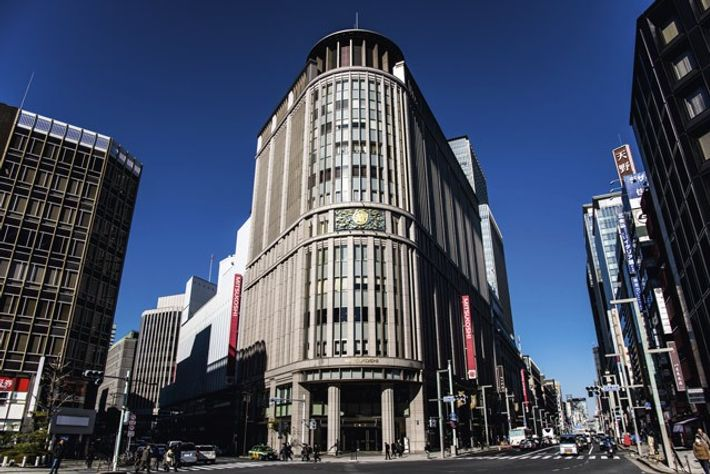 Mitsukoshi Department Store. Image: Alamy