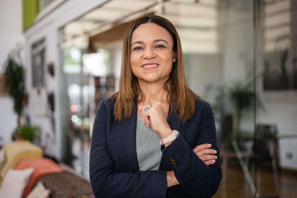 Andrea Meza, Environment Minister for Costa Rica.