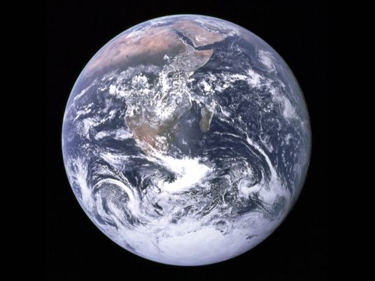 The story of Earth's first selfie
