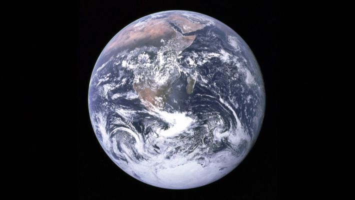 Earth's First Selfie
