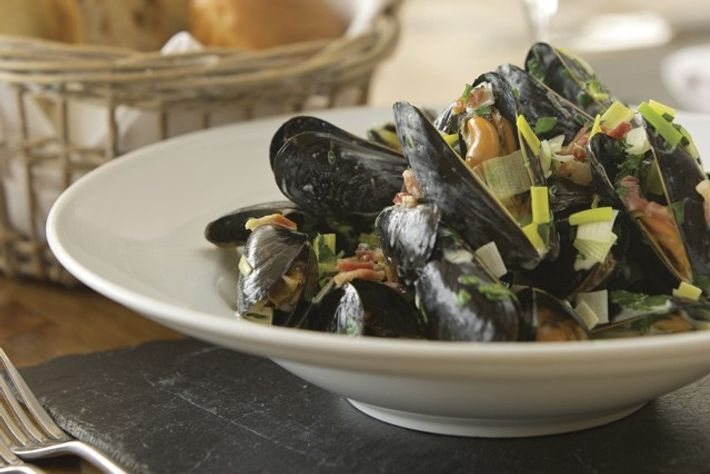Mussels, South Sands