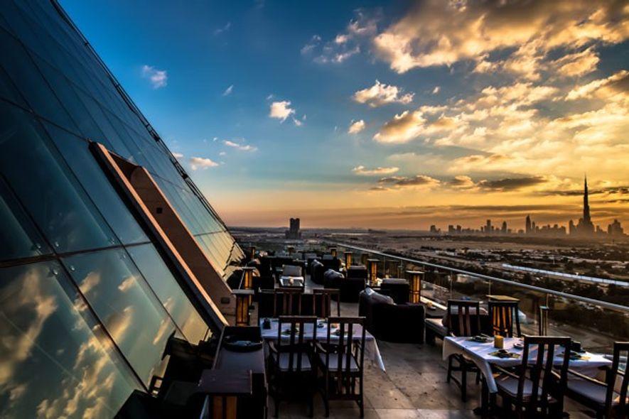 Terrace at Tomo, Dubai.