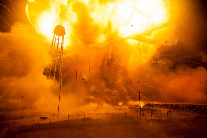 Unmanned rocket launches aren't without incident. The Orbital ATK Antares rocket suffered a catastrophic anomaly moments ...