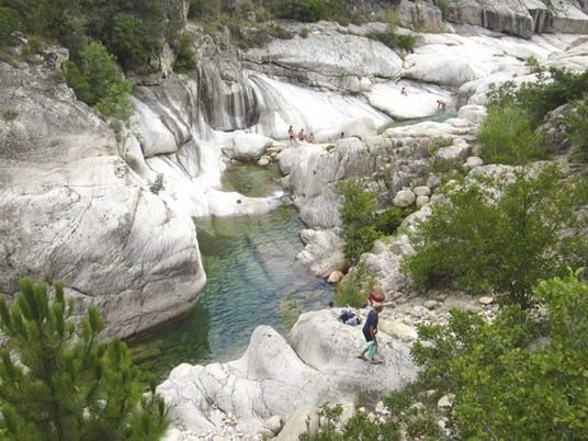 Family travel: Diving into Corsica