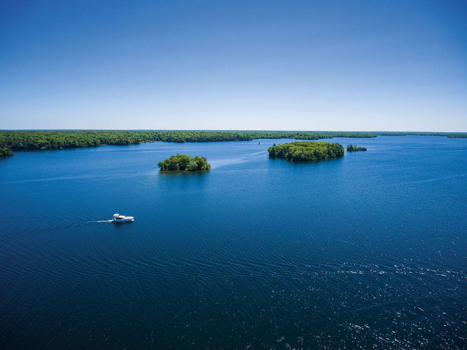 Upper Rideau Lake, Ontario, Canada