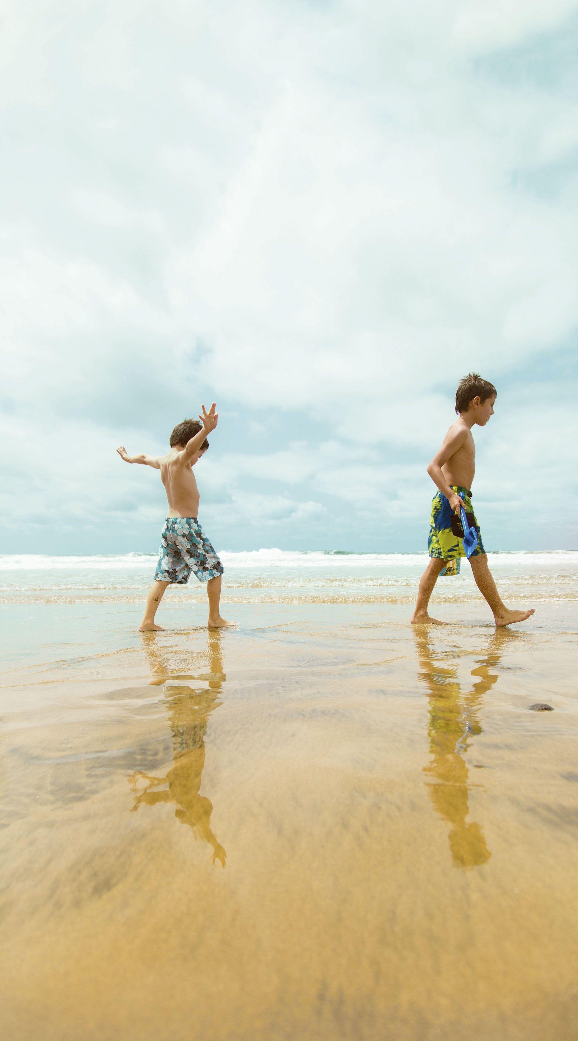 Exploring the beaches in Gran Canaria