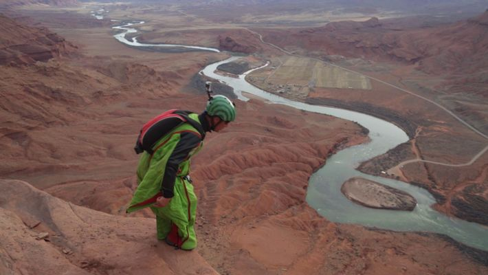 Using Science to Map a Wingsuit BASE Jump
