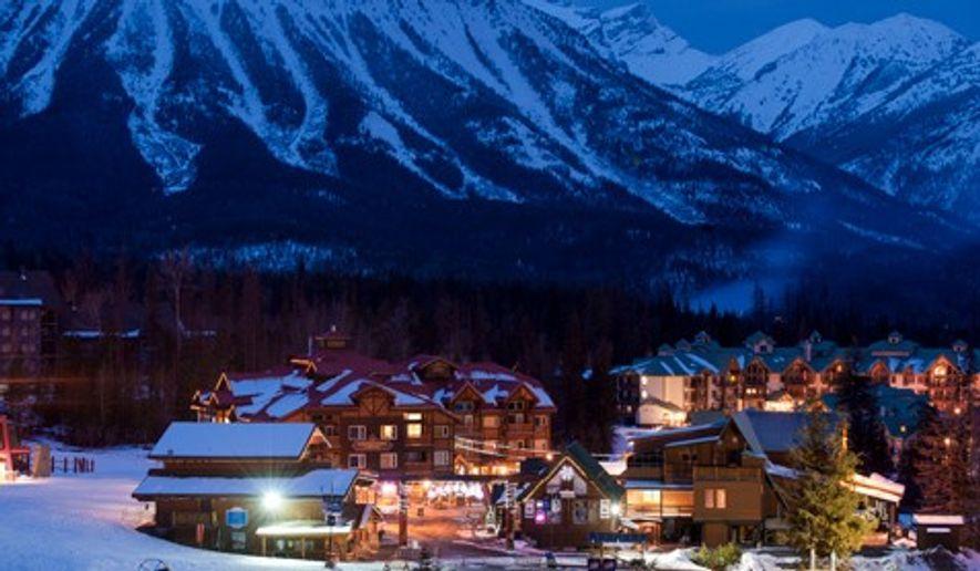Fernie Alpine Resort Village, British Columbia, Canada. Image: Destination BC/Dave Heath