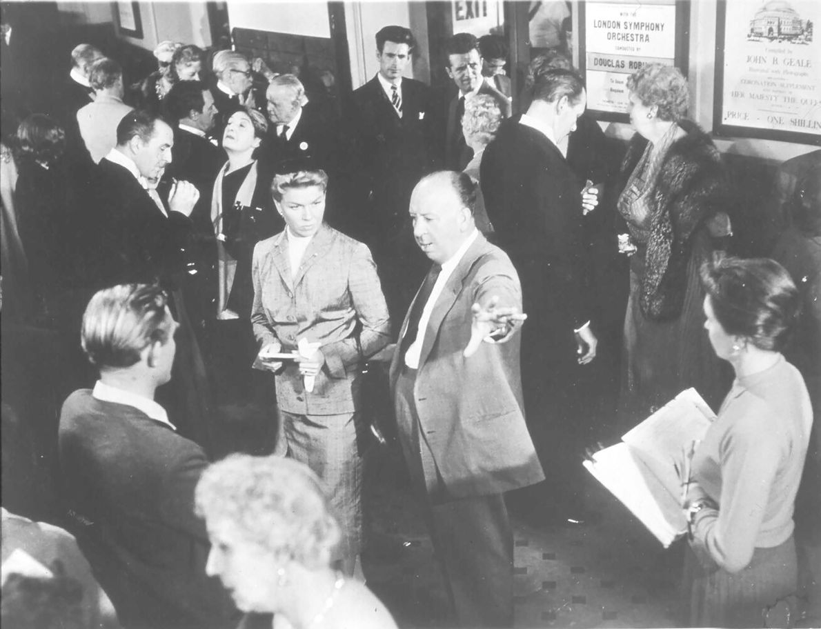 Britihs director Alfred Hitchcock filmed a portion of his 1955 film The Man Who Knew Too ...