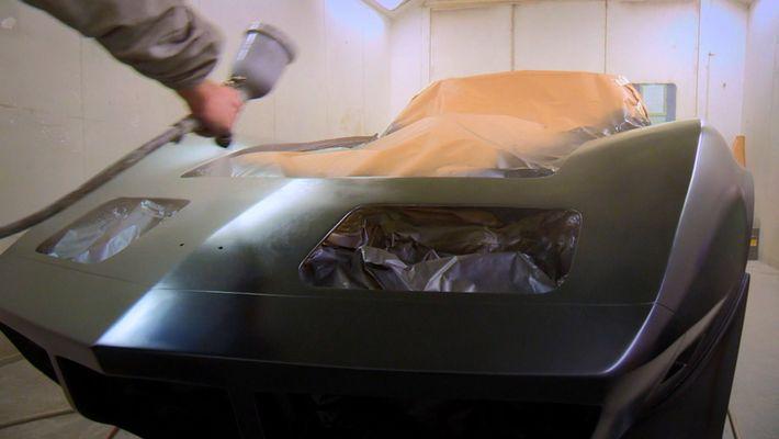 Fixing a Little Black Corvette Stingray