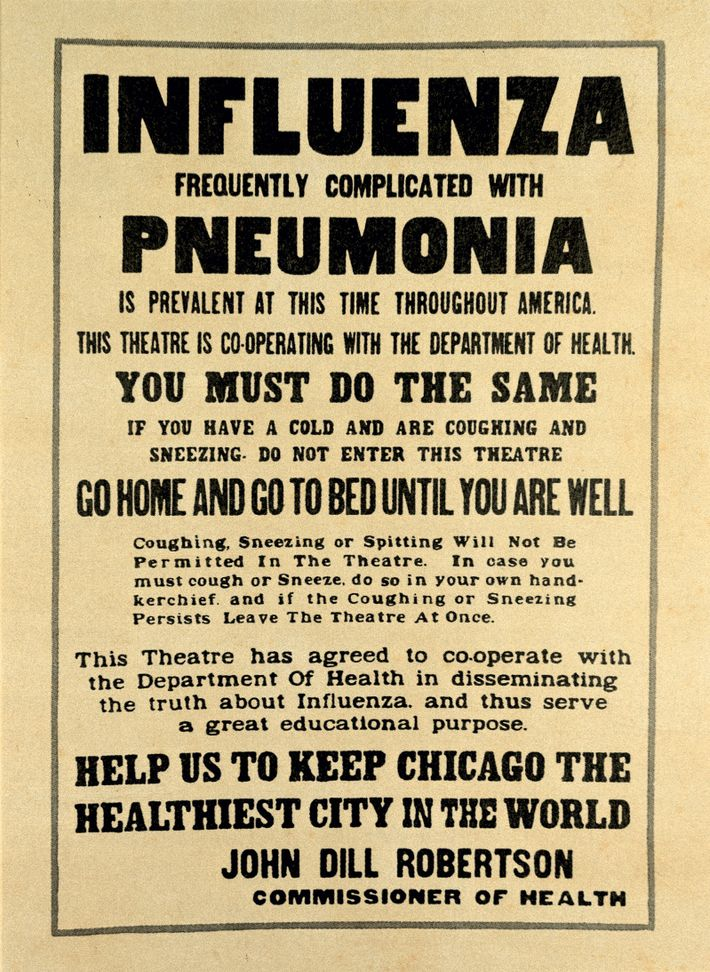 As the flu began to take its toll, U.S. cities took measures to reduce its spread. ...