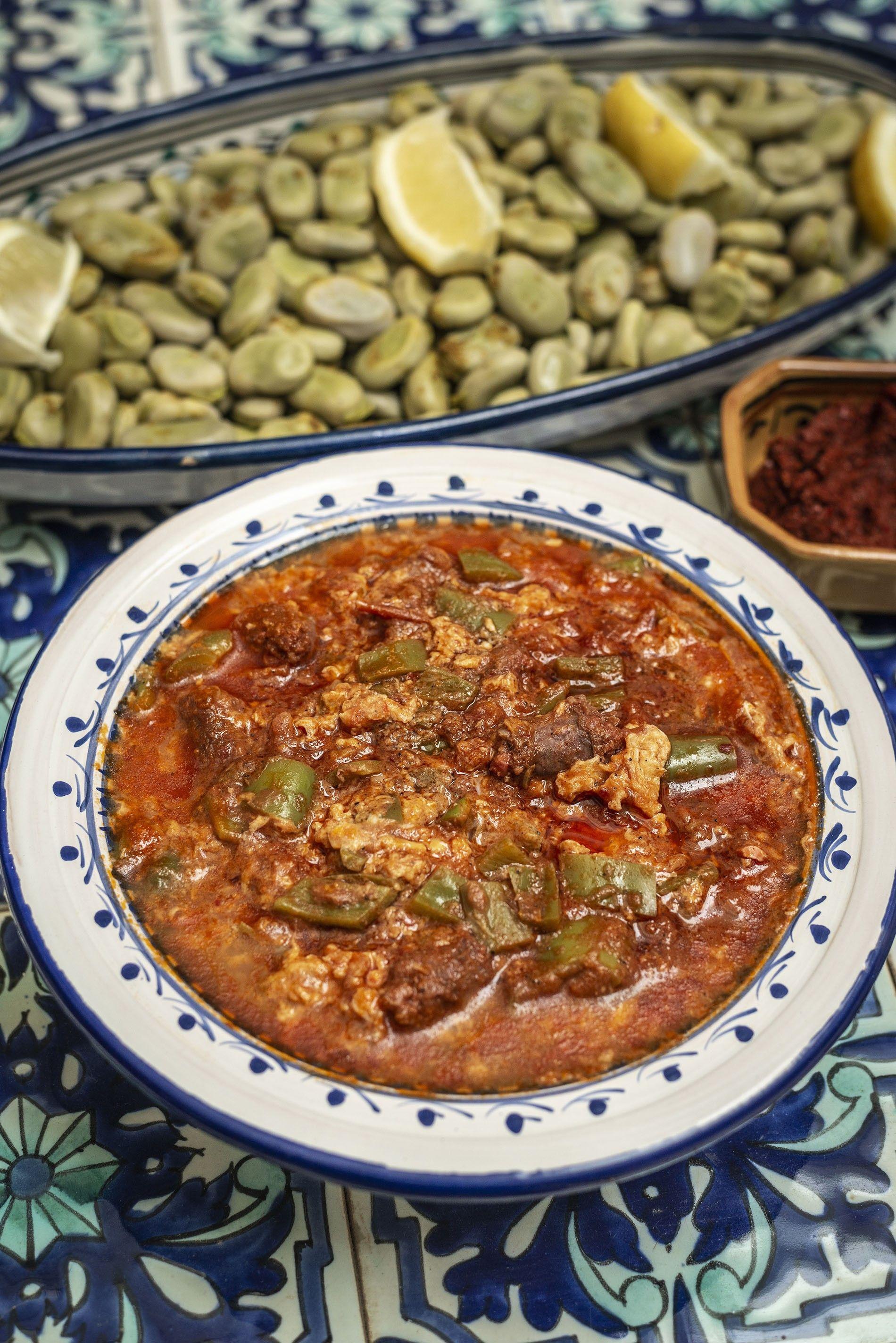 How to make it: Rafik Tatli's ojja with merguez recipe