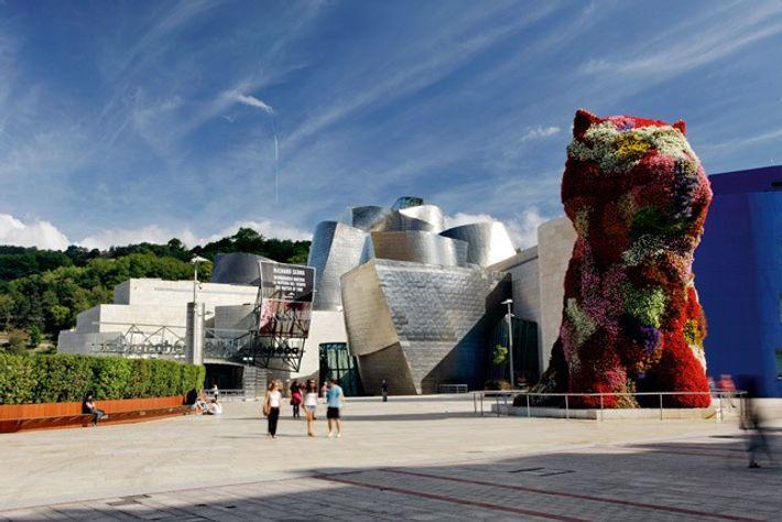 Bilbao's Guggenheim museum.