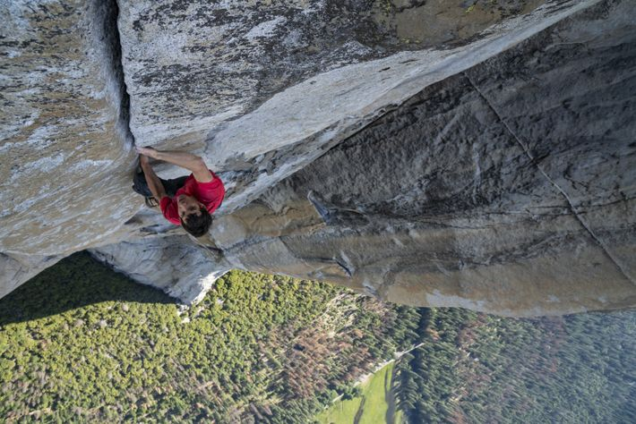Free climbing is much more of a mental challenge than a physical endeavour, says Alex Honnold.