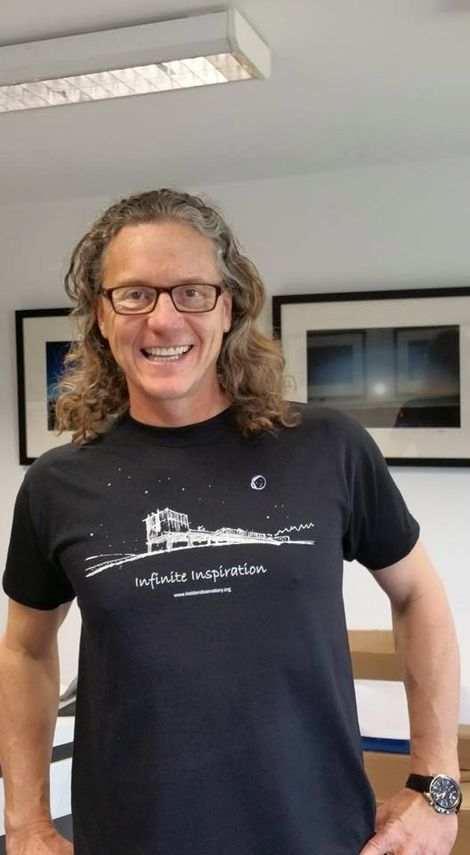 Gary Fildes, founder and director of the Kielder Observatory in Northumberland.