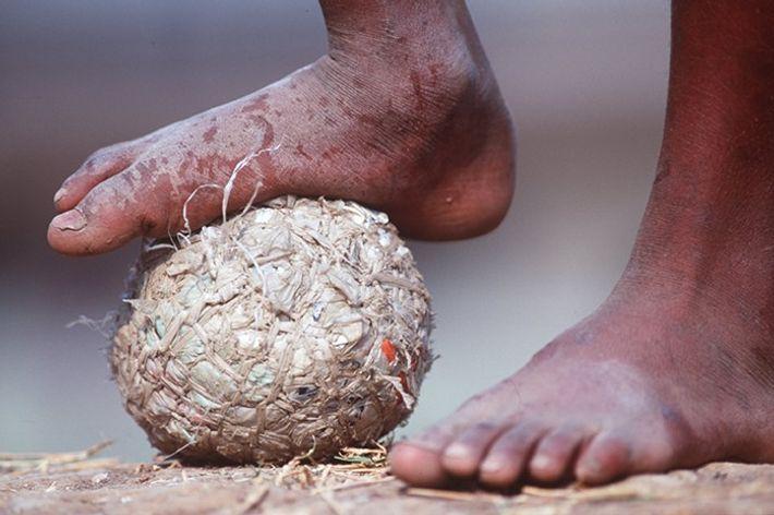 Homemade football