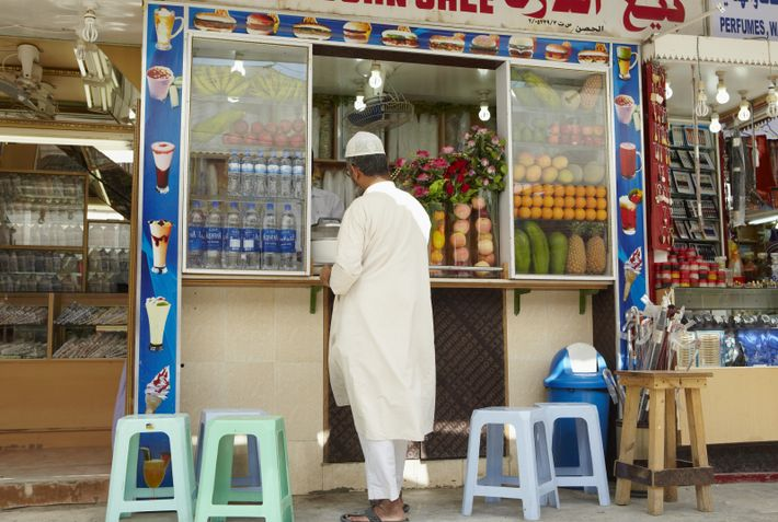 A food stall