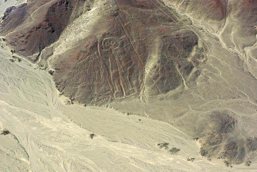 There are about 300 different figures to be found among the Nazca Lines.
