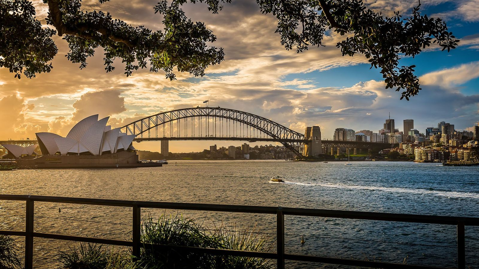 Sydney Opera House and Harbour Bridge, New South Wales