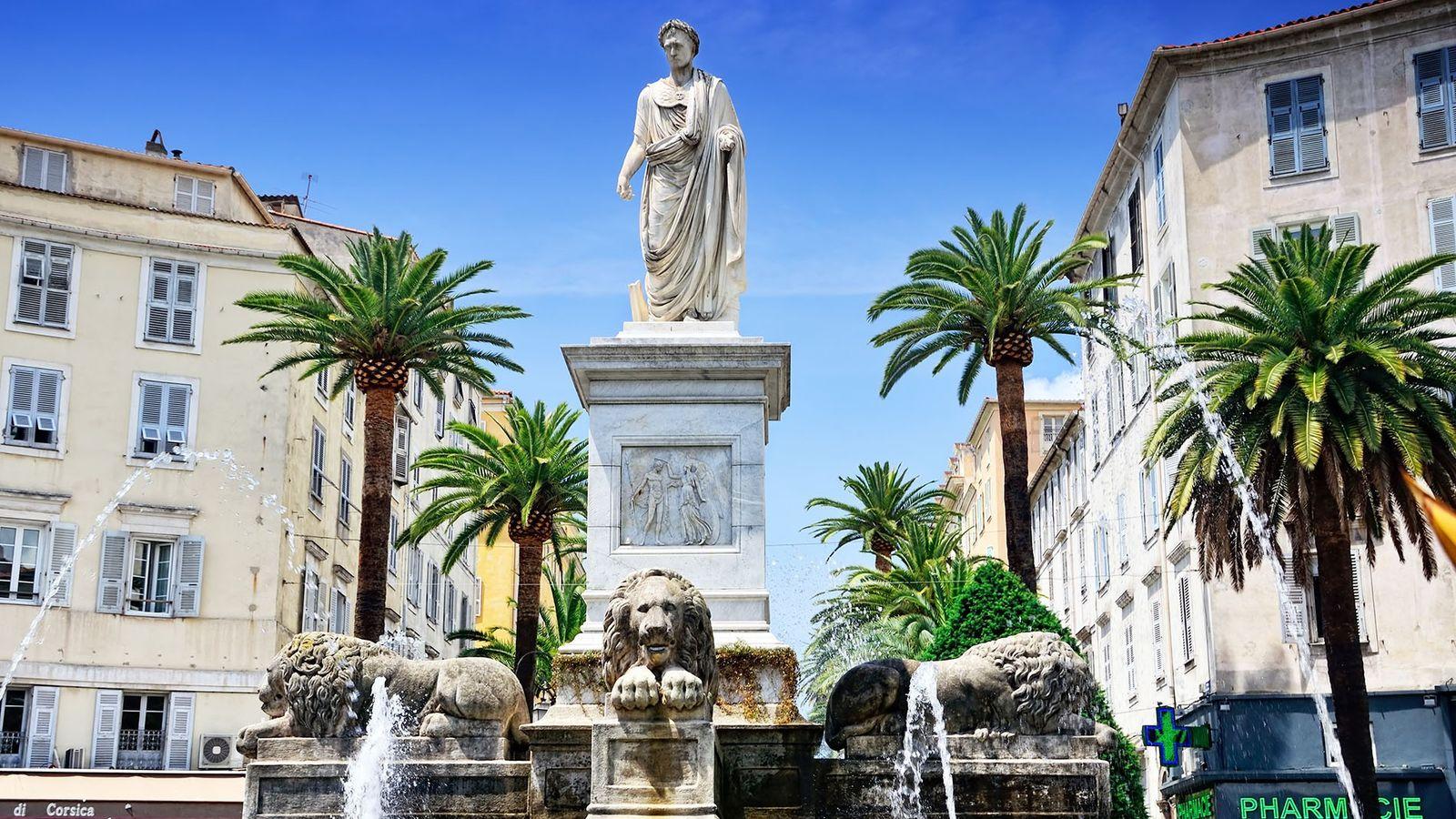 Statue of Napoleon, Ajaccio, Corsica