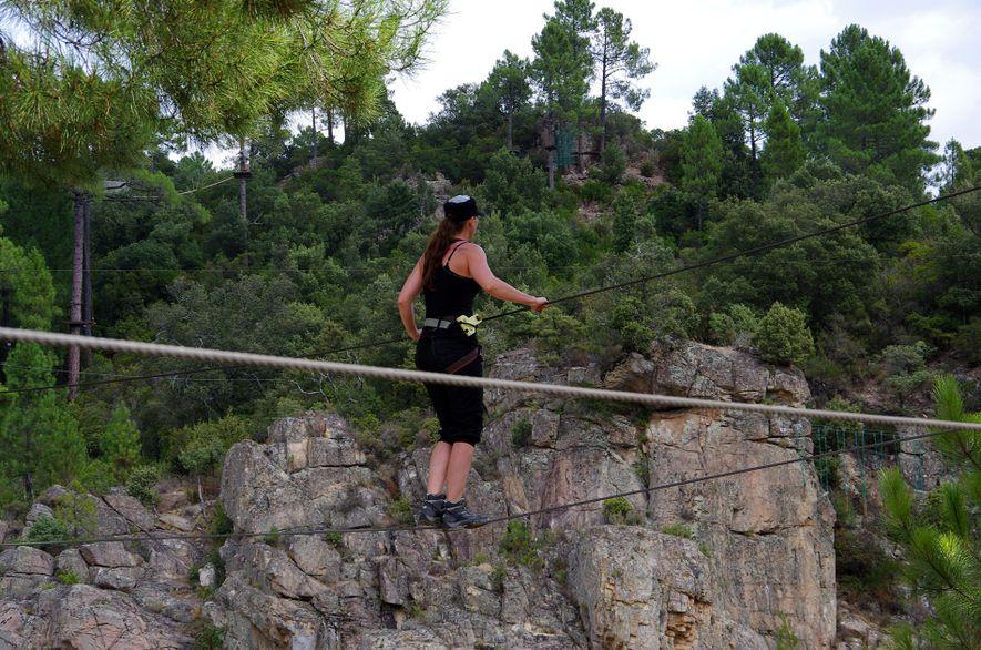 Forest Adventure Park, Corsica
