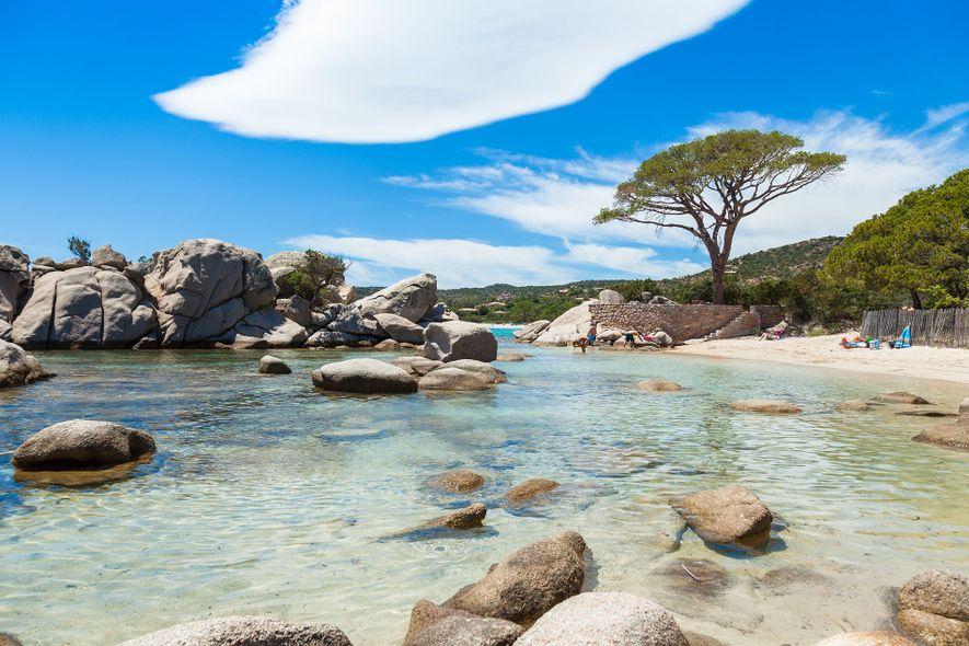 Rondinara beach, Corsica