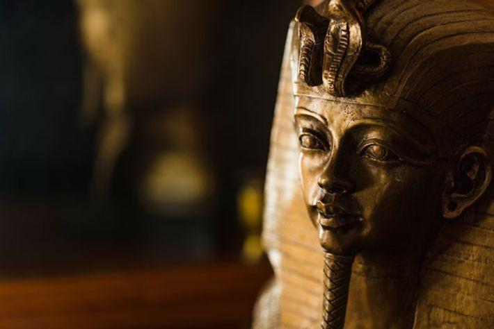 The iconic Egyptian pharaoh hits the road