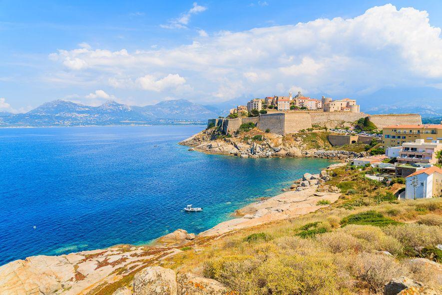 Calvi, one of Corsica's most romantic spots